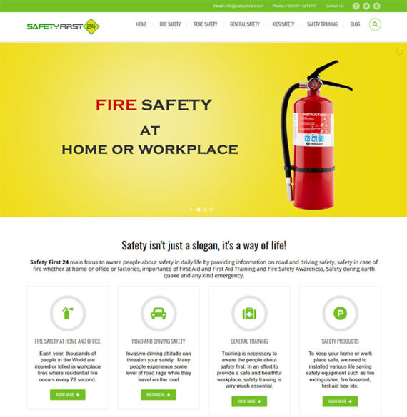 Safety First 24